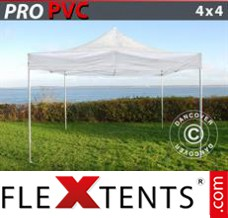 Tonnelle pliante FleXtents PRO 4x4m Transparent