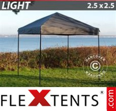 Tonnelle pliante FleXtents Light 2,5x2,5m Grise