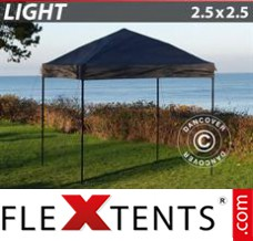 Tonnelle pliante FleXtents Light 2,5x2,5m Noir